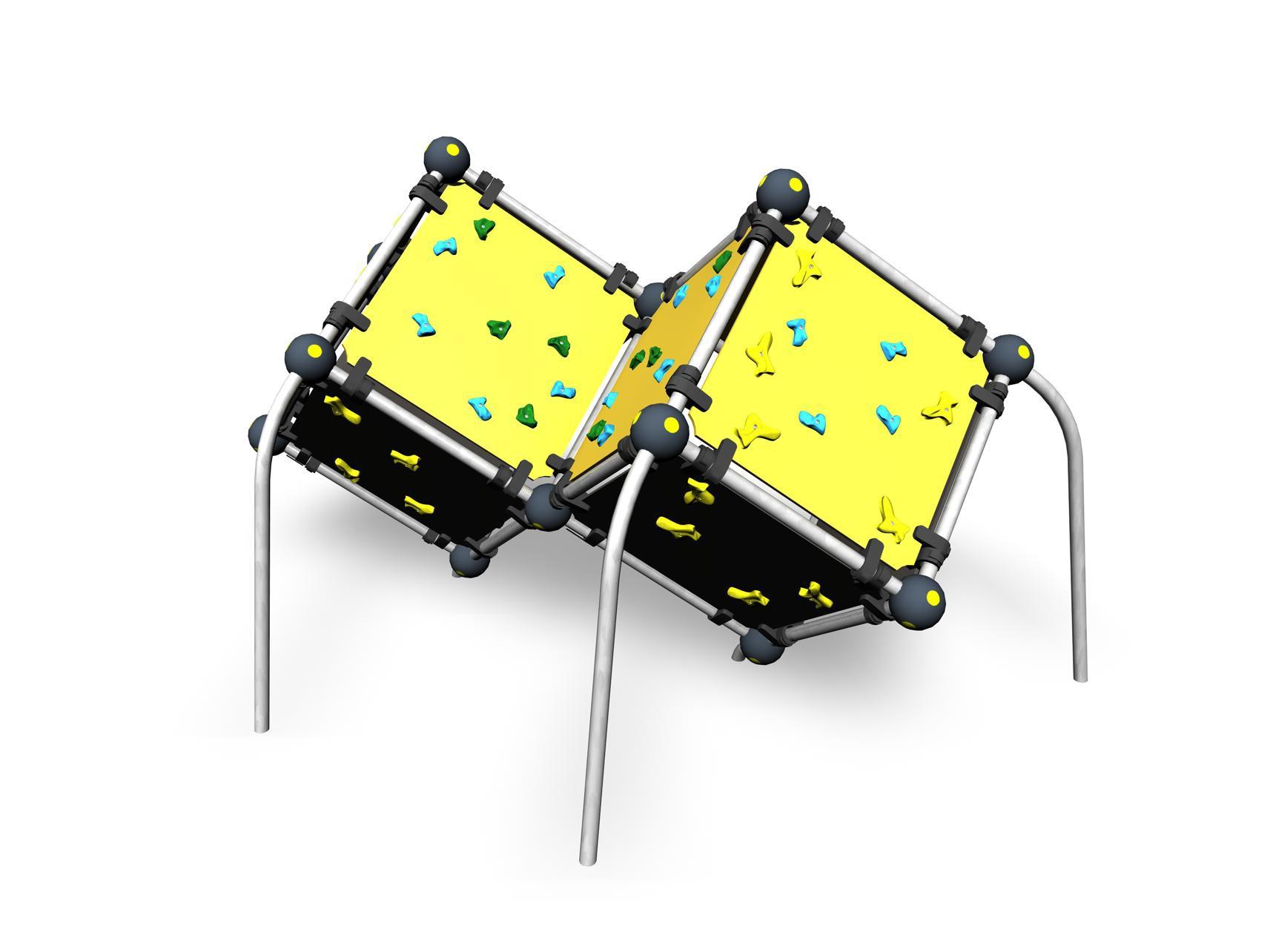 Коробка желтая М Lappset 220545