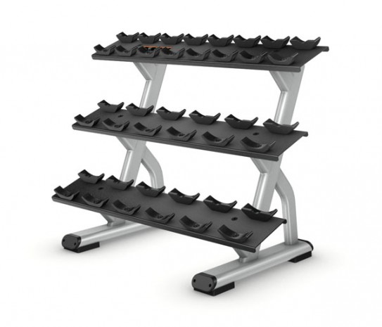Подставка PRECOR Discovery 3-TeirDumbbell Rack – 10 pair DBR814