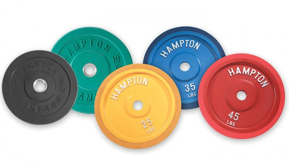 Диск HAMPTON Olympic Grip RBP-10