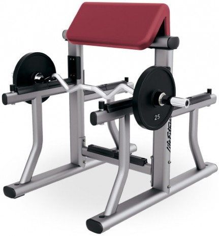Скамья LIFE FITNESS Signature Bench-Rack Arm Curl Bench SAC