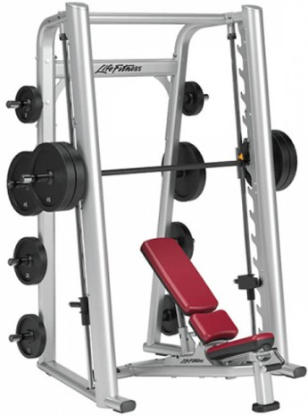 Машина Смита LIFE FITNESS Signature Bench-Rack Smith Machine SSM