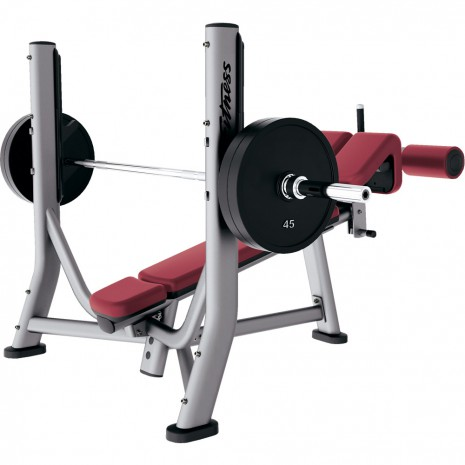 Скамья LIFE FITNESS Signature Bench-Rack Olympic Decline Bench SODB