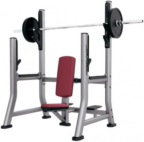 Скамья LIFE FITNESS Signature Bench-Rack Olympic Military Bench SOMB