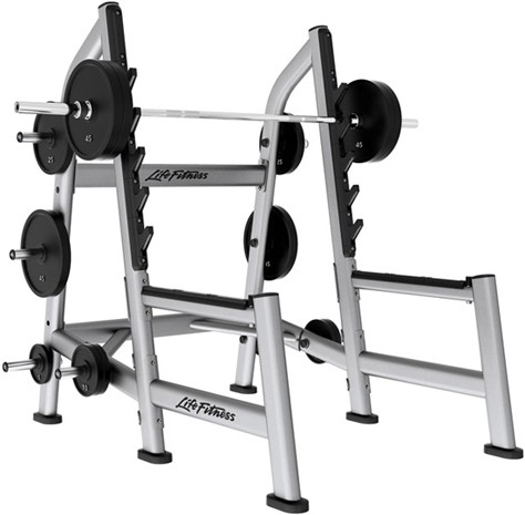 Силовая рама LIFE FITNESS Signature Bench-Rack Olympic Squat Rack SOSR
