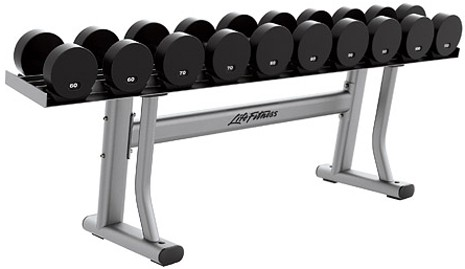 Подставка LIFE FITNESS Signature Bench-Rack Single Tier Dumbbell Rack SDR1