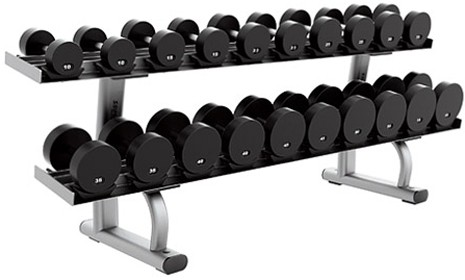 ��������� LIFE FITNESS Signature Bench-Rack Two Tier Dumbbell Rack SDR2