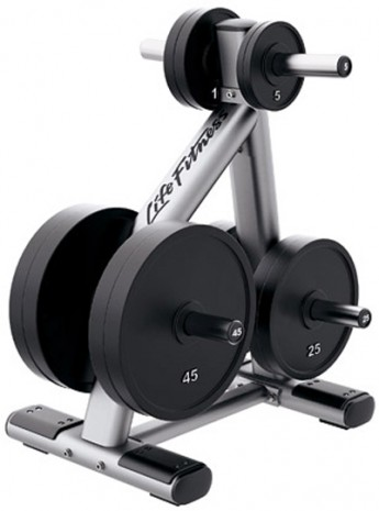 Подставка LIFE FITNESS Signature Bench-Rack Olympic Weight Tree SOWT