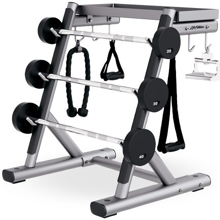 Подставка LIFE FITNESS Signature Bench-Rack Handle Rack SHR
