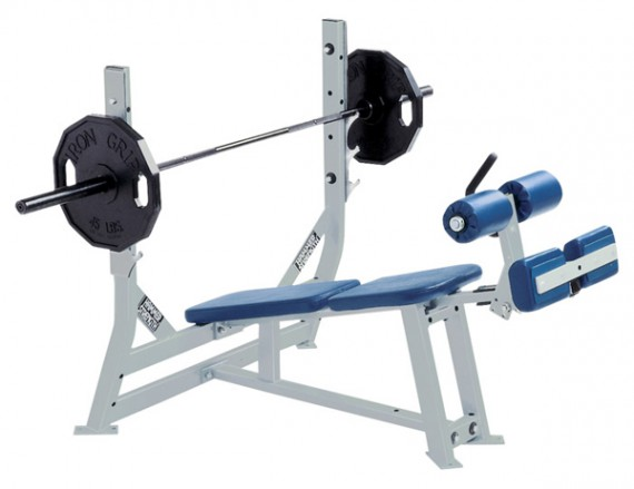 Скамья HAMMER STRENGTH Benches and Racks Olympic Decline Bench ODB