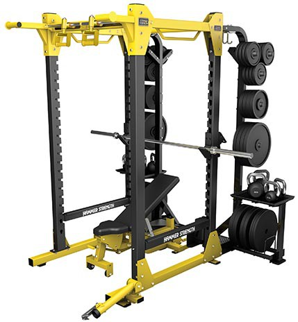 Силовая рама HAMMER STRENGTH HD Elite Power Rack HDEPR