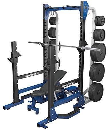 Силовая рама HAMMER STRENGTH HD Elite Multi-Rack HDEMR
