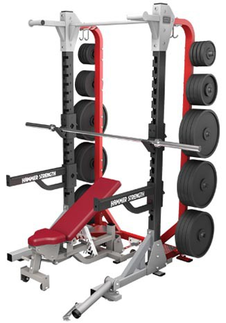 Силовая рама HAMMER STRENGTH HD Elite Half Rack HDEHR
