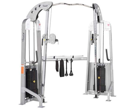Многофункциональный тренажер HOIST Dual Line Personal Pulley Gym - w/Chin Up Bar and Steel HD-1910
