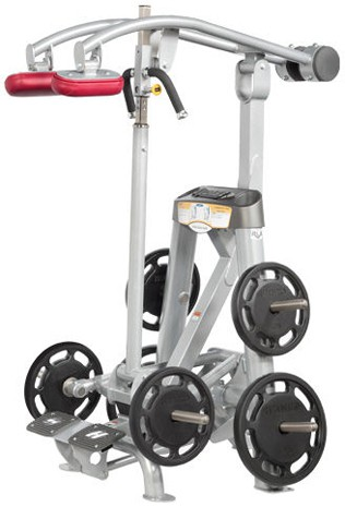 Силовой тренажер HOIST Roc-It Line Plate-Loaded Standing Calf Raise RPL-5405