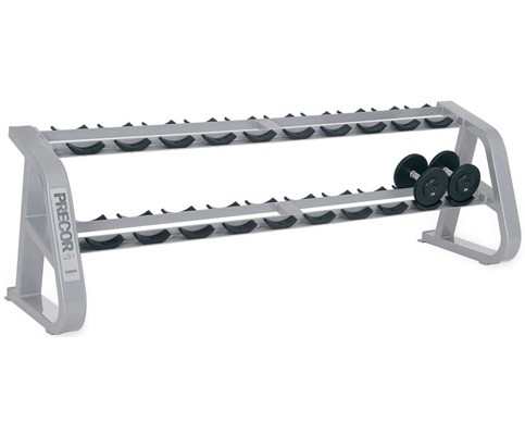Подставка PRECOR/ICARIAN Icarian Benches - Racks Dumbbell Rack – 10 Pair CW812