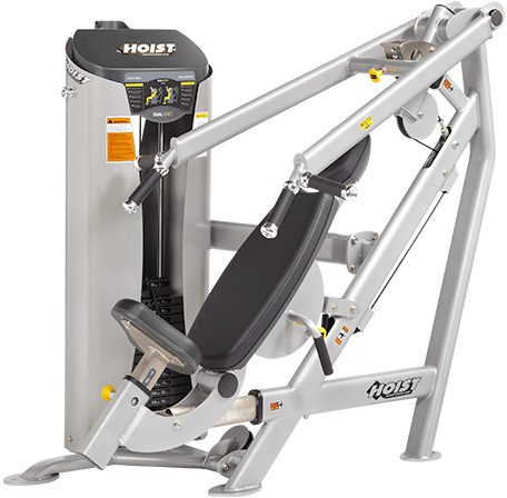 Силовой тренажер HOIST Dual Line New Design Chest Press/Shoulder Raise HD-3300