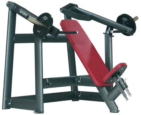 Силовой тренажер GYM80 Sygnum Plate Loaded Incline Bench Press Machine 4309