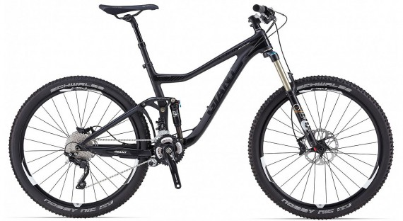 Мужской велосипед GIANT Offroad Trance Advanced 27.5 1 (2014)