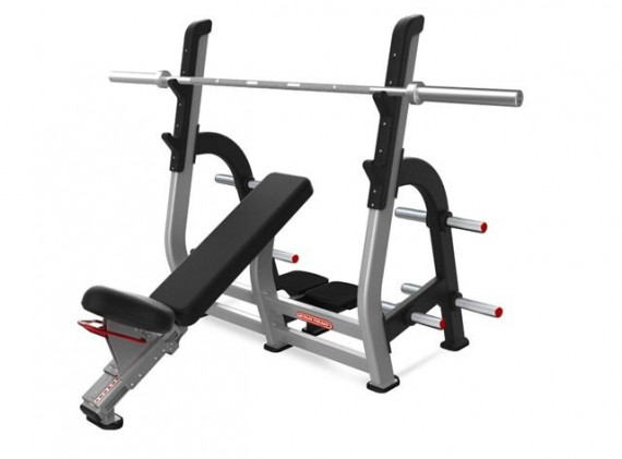 Скамья STAR TRAC Inspiration Series Olympic Incline Bench 9IP-B7203