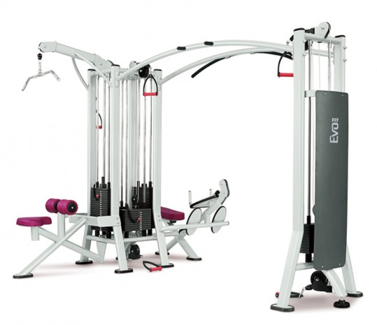 Мультистанция PANATTA Fit Evo Jungle machine + cable Station 1FE115+1FE116